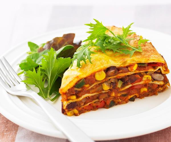 pumpkin kumara lasagne