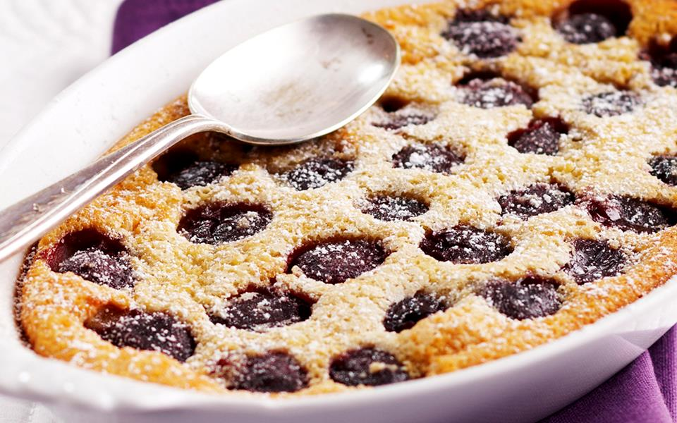 Cherry clafoutis recipe | FOOD TO LOVE