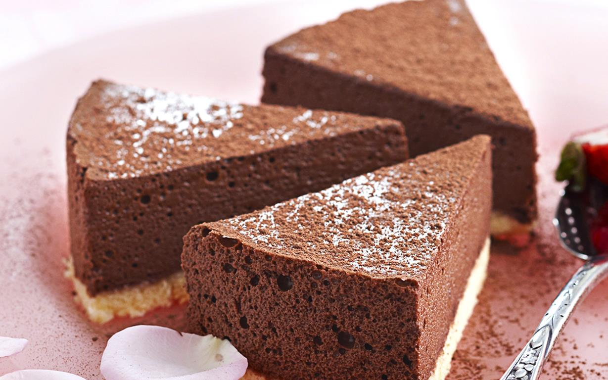 Chocolate mousse cake recipe | Food To Love