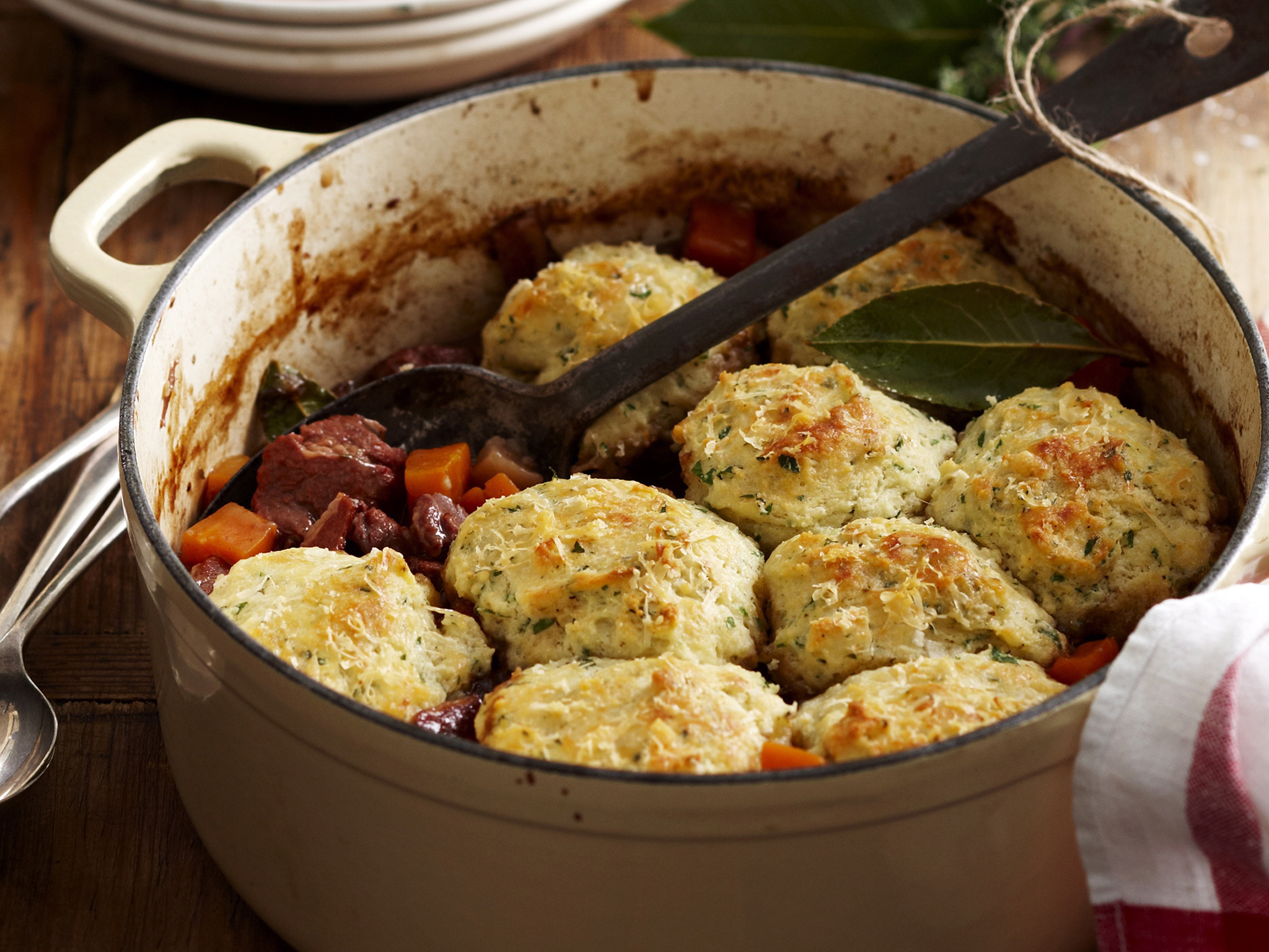 Old Fashioned Beef Stew Recipe With Dumplings