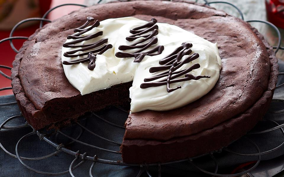 Double chocolate tart recipe | FOOD TO LOVE