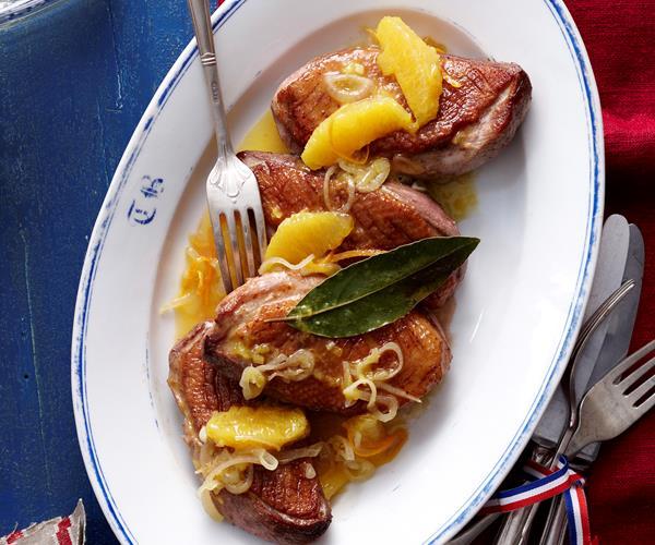 duck breast w sticky orange sauce a l 39 orange recipe