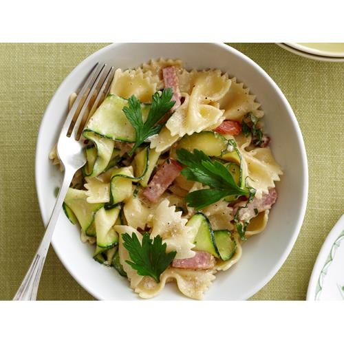 Farfalle with creamy zucchini recipe | Food To Love