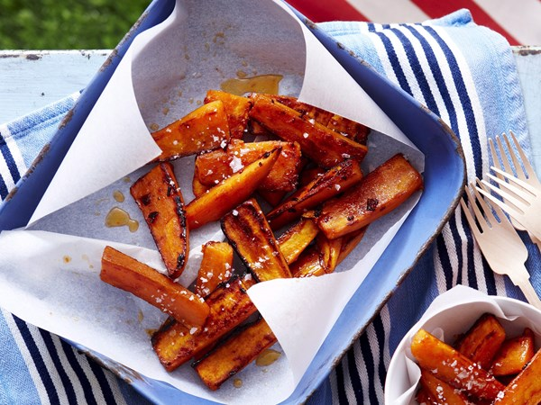 Kumara chilli wedges