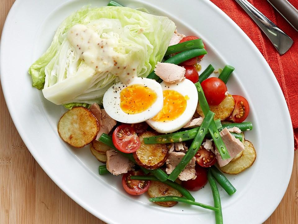 Single salad love test