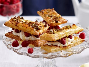 Meringue mille feuille