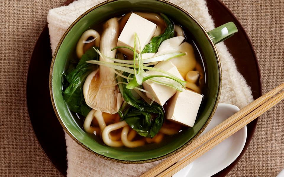 napa cabbage and udon miso soup recipes dishmaps udon noodle miso soup ...