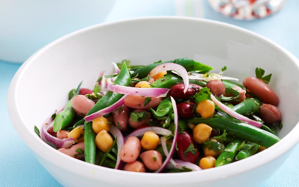 Mixed bean salad recipe | FOOD TO LOVE