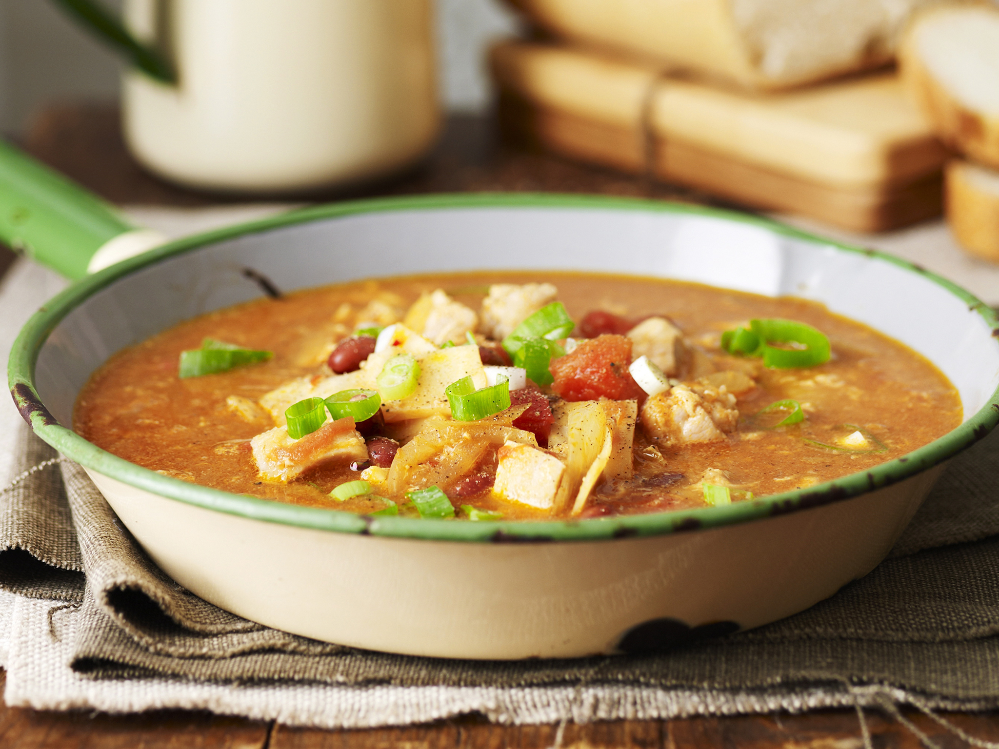 North african chicken soup recipe