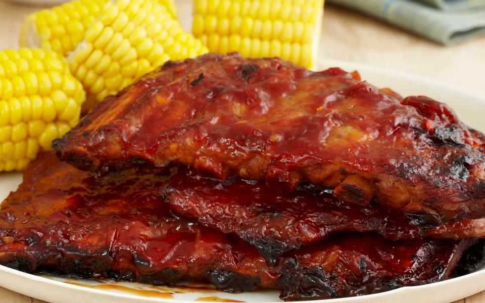 how to cook spare ribs in a toaster oven