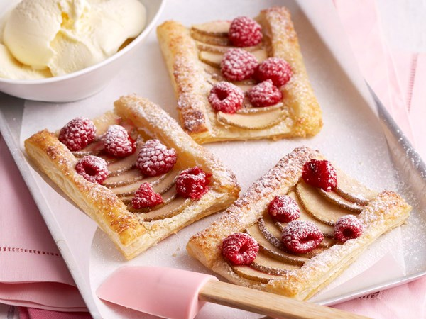 Pear galettes