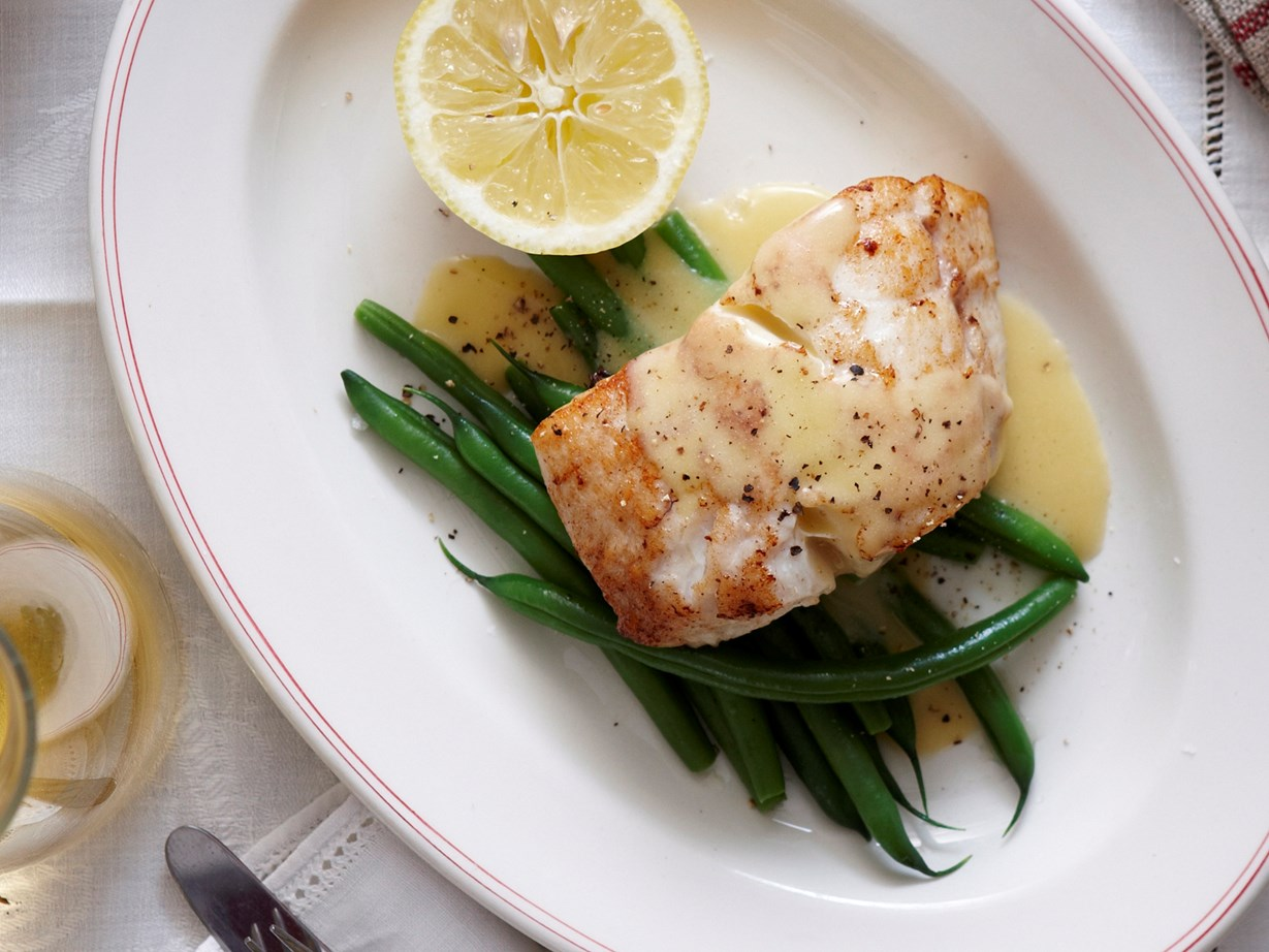 seared fish with lemon beurre blanc recipe | food to love