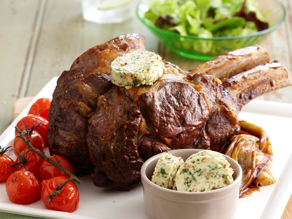 how to cook a standing beef rib roast