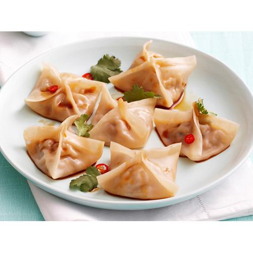 Steamed chicken, shiitake and water chestnut dumplings recipe | FOOD ...