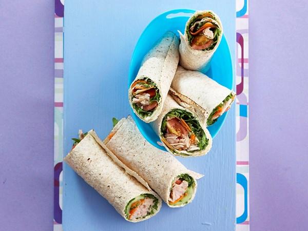 tuna salad roll ups