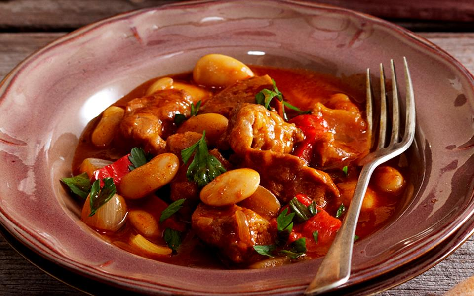 Veal goulash with beans recipe   FOOD TO LOVE