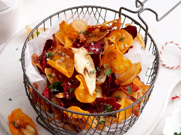 6 healthy vegetable chip recipes