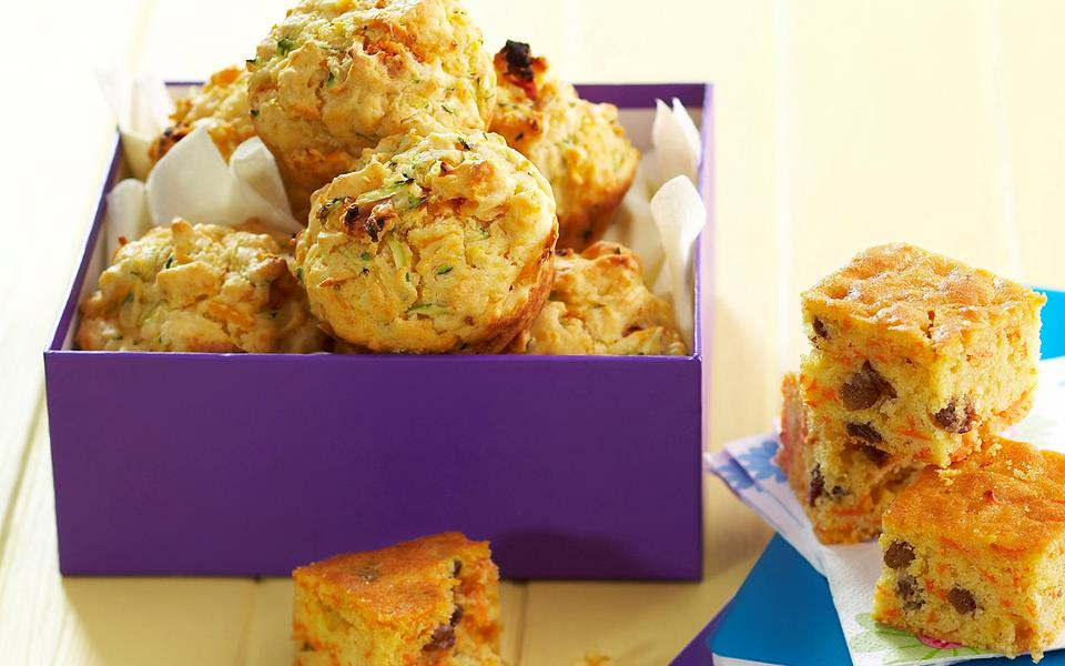 Pumpkin and feta muffins recipe | FOOD TO LOVE