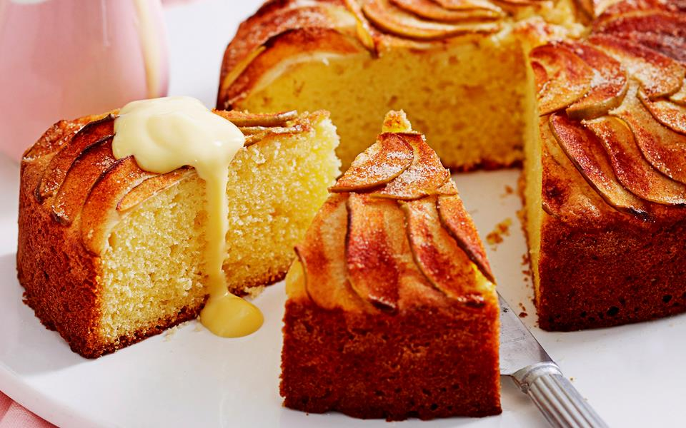 Apple tea cake recipe   FOOD TO LOVE