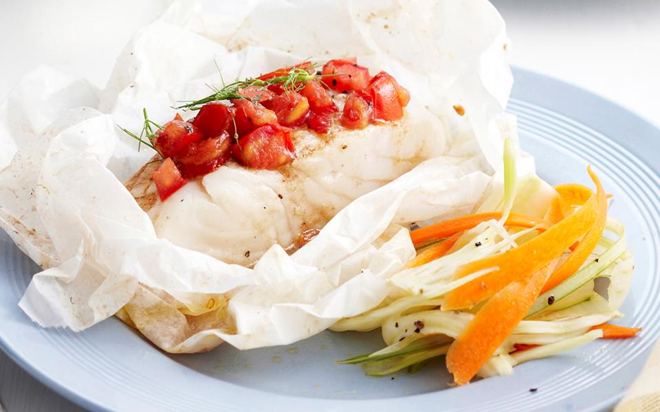 baked fish parcels recipe food to love