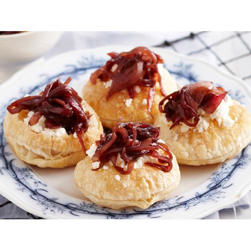 Caramelised onion and feta tarts recipe | Food To Love