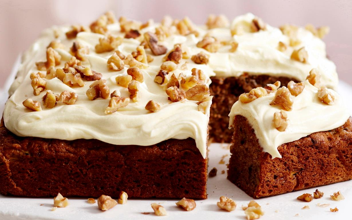 Carrot Cake Recipe Raisin Walnut