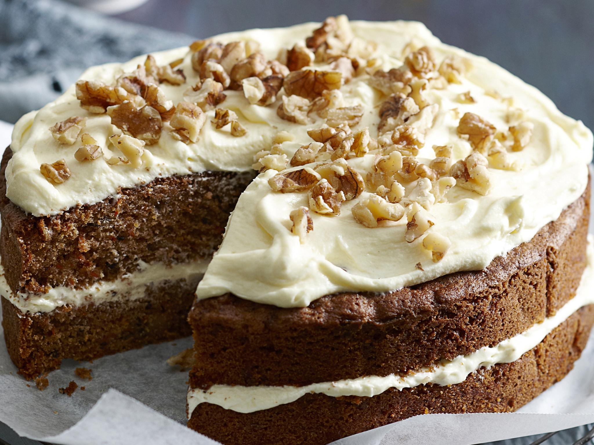 Jane Hornby Carrot Cake