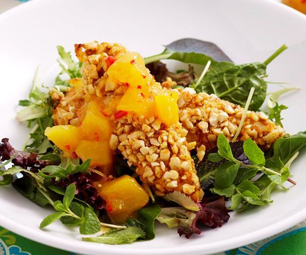 Cashew chicken with mango chutney recipe | Food To Love
