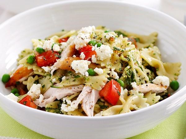 Chilli herb and chicken pasta