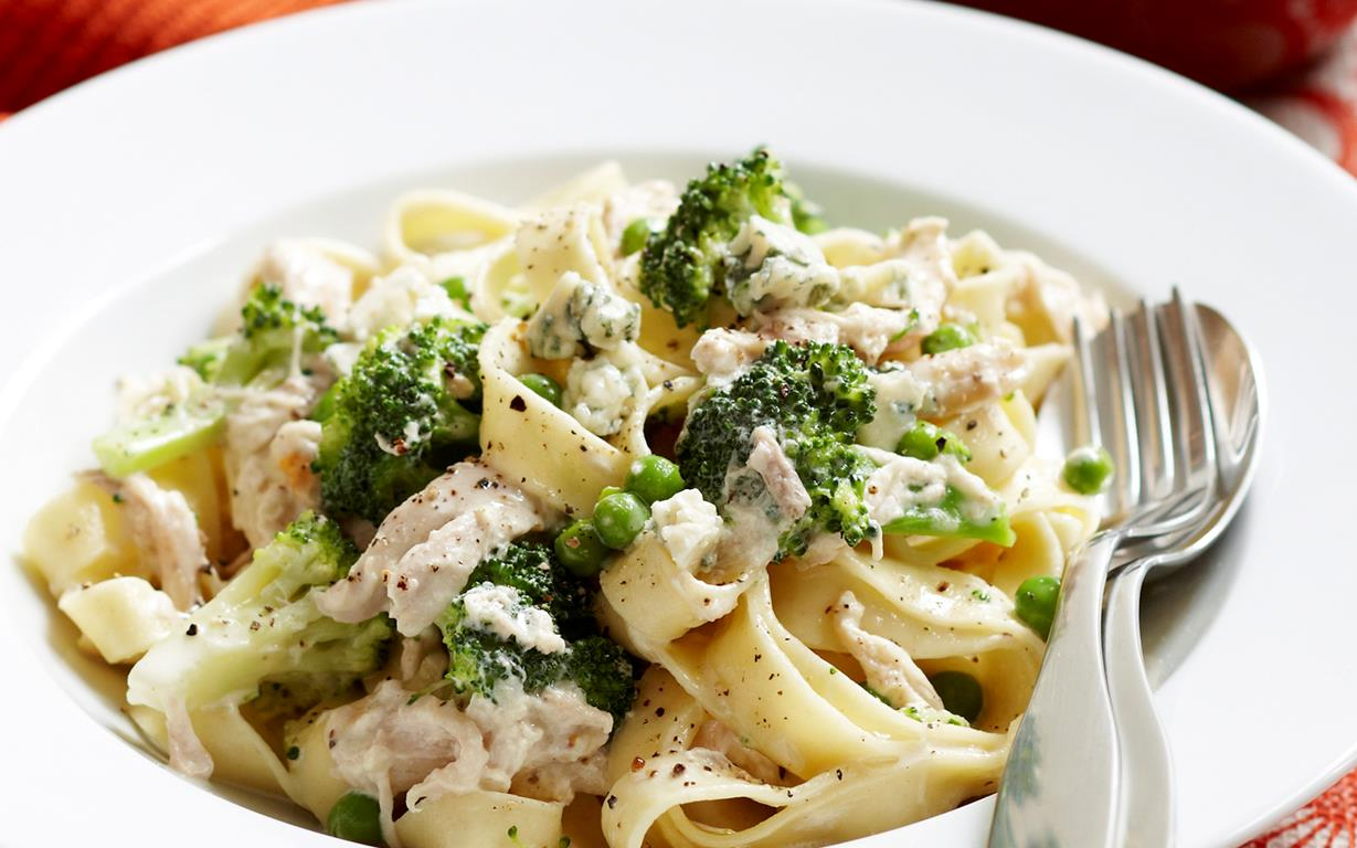 Creamy chicken and broccoli pasta recipe food to love creamy chicken and broccoli pasta forumfinder Images