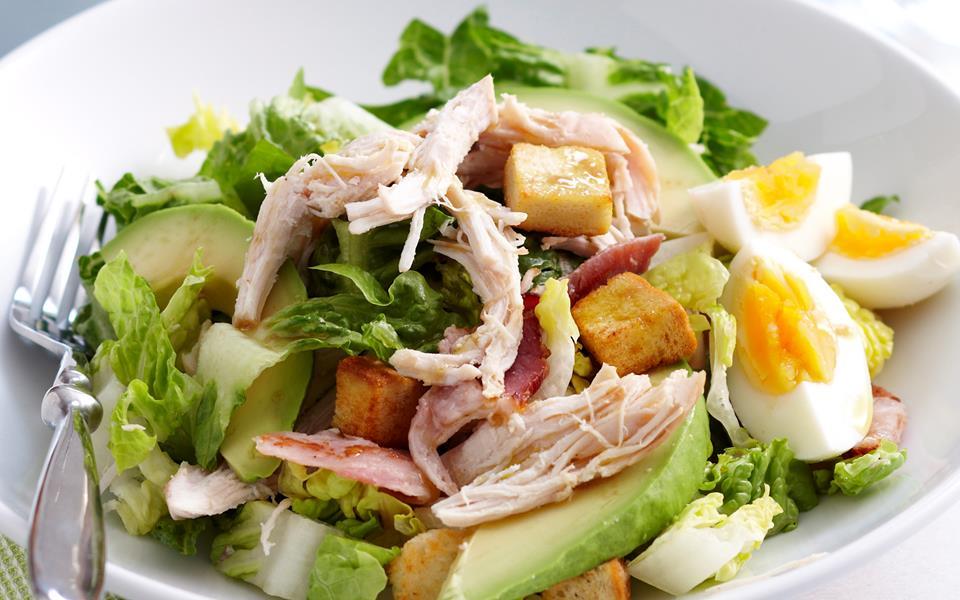 Easy chicken caesar salad recipe   FOOD TO LOVE