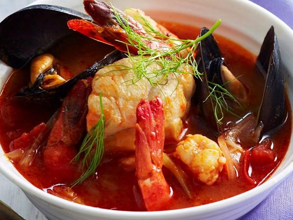 Fennel seafood bouillabaisse