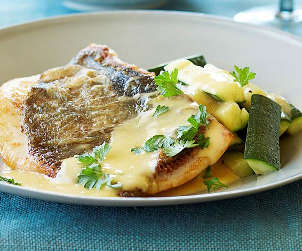 Pan fried fish with lemon butter sauce recipe food to love for Lemon butter sauce for fish