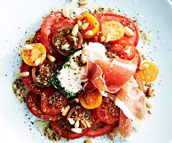 Goat's cheese and tomato salad recipe   Food To Love