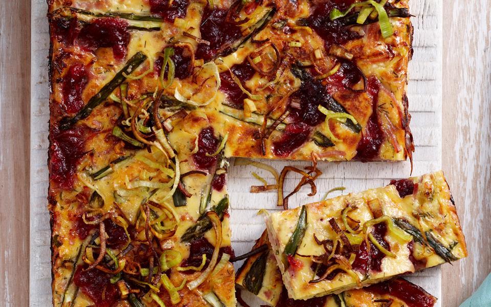 Ham and asparagus frittata recipe | FOOD TO LOVE