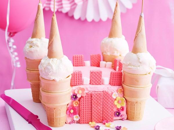 Ice-cream castle