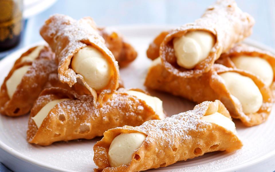 Lemon cheesecake cannoli recipe | FOOD TO LOVE