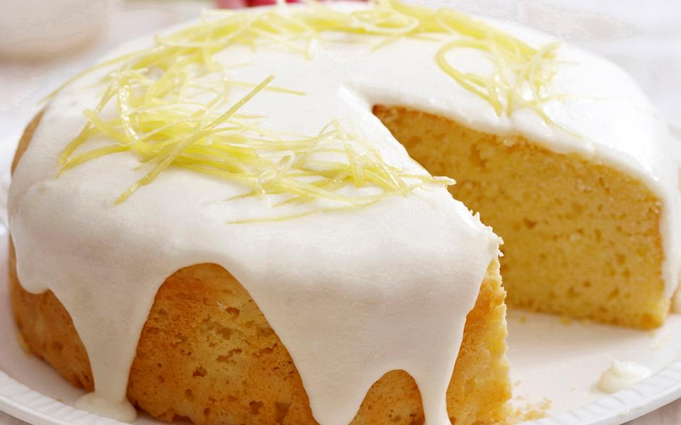 Lemon sour cream cake recipe | FOOD TO LOVE