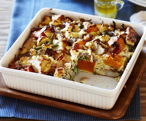 Roast potato and pumpkin frittata recipe | Food To Love