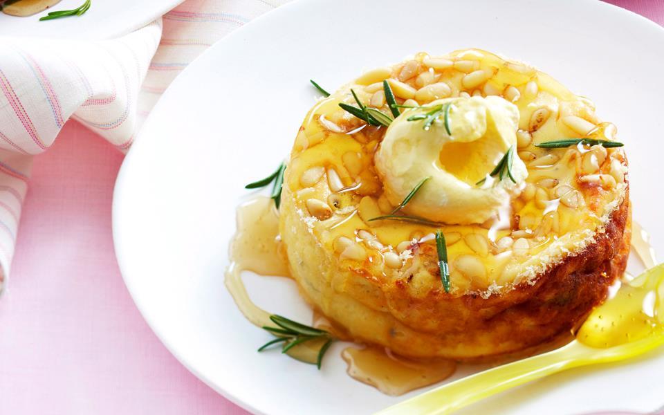 Honey And Pine Nut Tart Recipe — Dishmaps