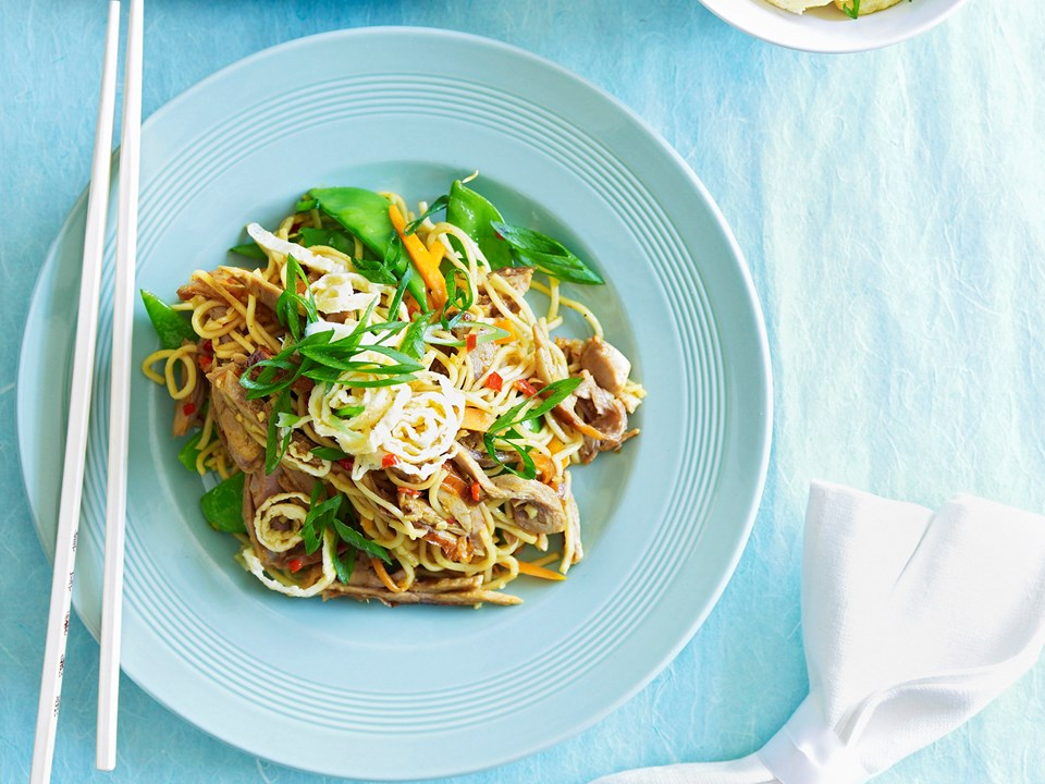how to cook singapore noodles