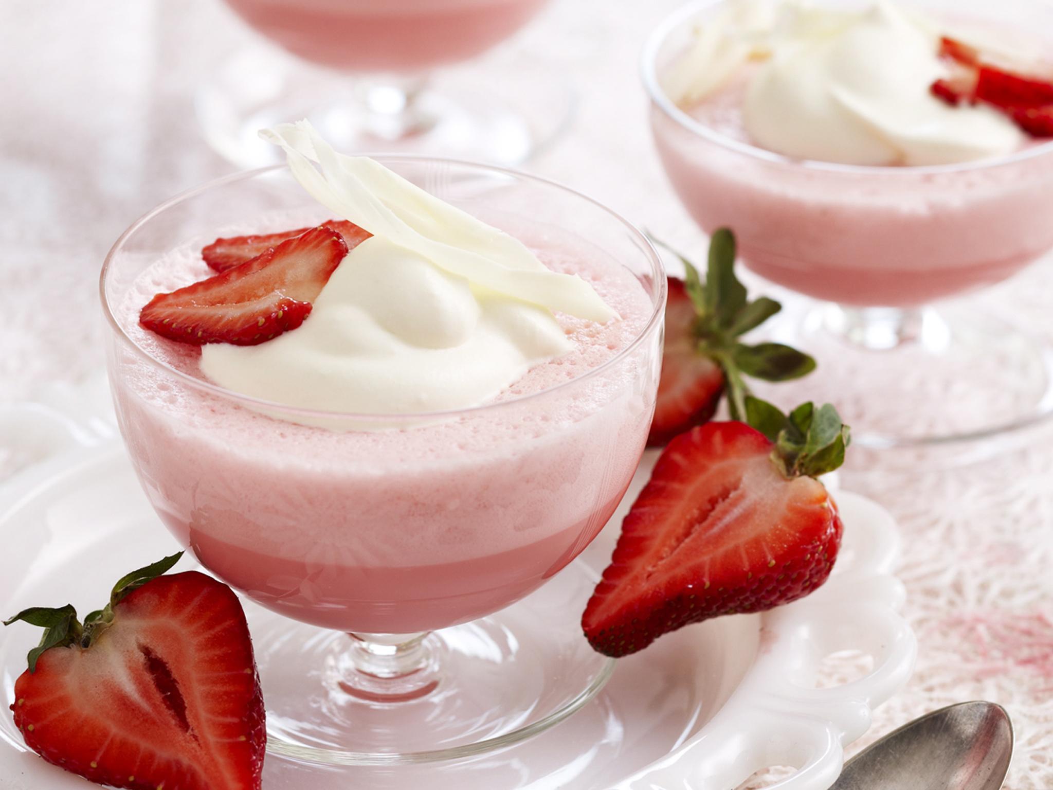 Resep strawberry bavarois pudding recipes