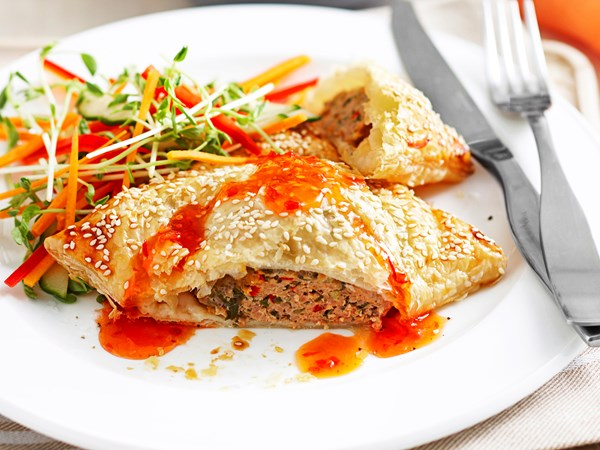 Chilli turkey parcels