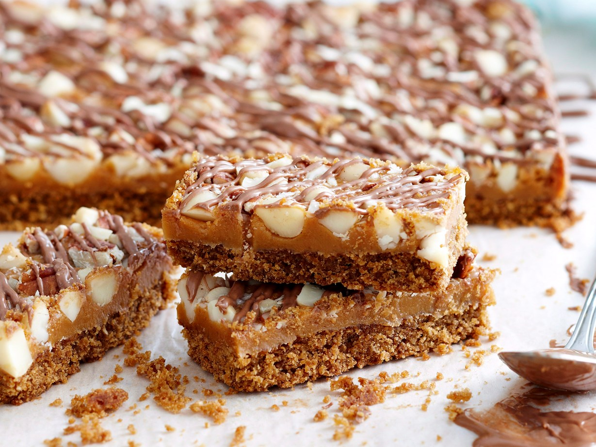 "[This slice is a must-try.](http://www.foodtolove.co.nz/recipes/choc-anzac-slice-13972|target=""_blank"")"