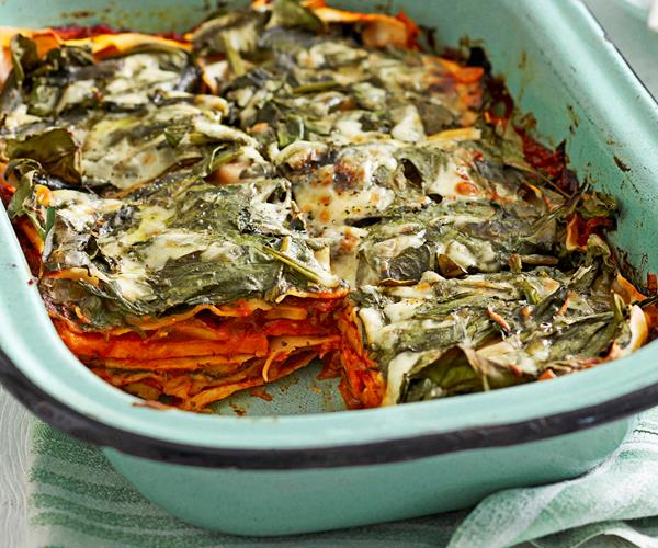 Mushroom and kumara lasagne recipe | Food To Love