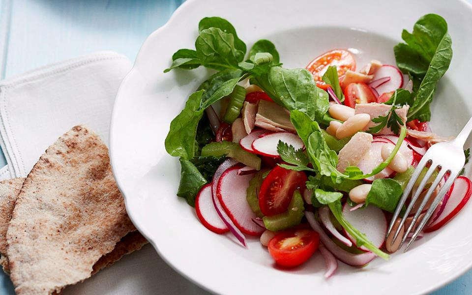 Tuna and white bean salad recipe   FOOD TO LOVE