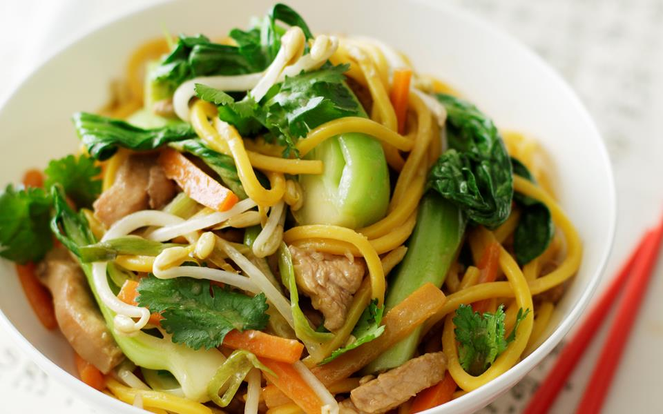 Chicken stir-fry with bok choy recipe | FOOD TO LOVE