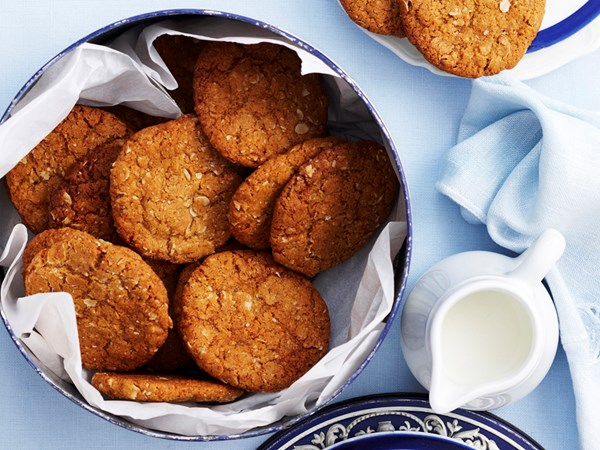 Best-ever ANZAC biscuits