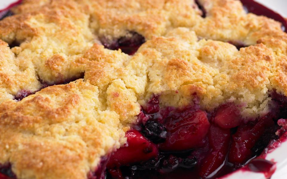 Apple+Pear+Cobbler Apple, pear and berry cobbler recipe | FOOD TO LOVE