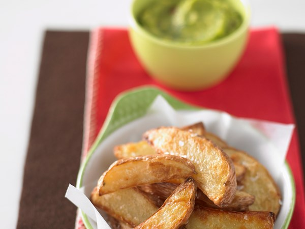 how to make baked potato wedges